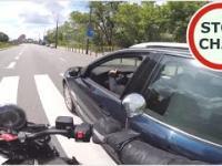 Celowa kolizja z motocyklistą i próba wymuszenia odszkodowania