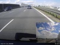 Wypadek AOW, czyli dlaczego nigdy nie należy parkować samochodu na lewym pasie
