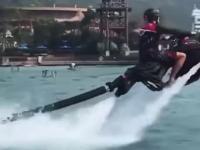 Fajny ekstremalny wynalazek sportów wodnych