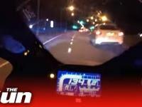 Pędził 267km/h na motorze i doznał bliskiego spotkania z...