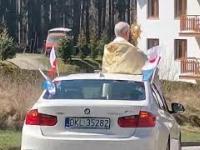 Procesja w BMW