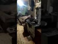 Patologia wielodzietnej rodziny z Ukrainy- 7 latek bije kijem pijanych w sztok rodziców