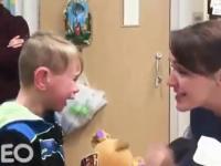 Głuchy dzieciak, Dylan po raz pierwszy słyszy swoją mamę