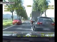 Pościg za pijanym kierowcą dk8 Bardo