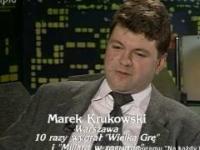 Marek Krukowski o marihuanie.