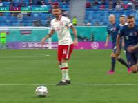 Polska przegrywa z Słowacją 1-2 w pierwszym meczu na Euro 2020