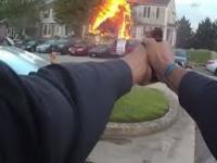 Nagranie video ze strzelaniny policji w baltimore