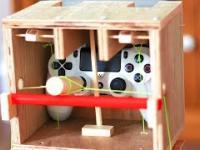 Domowej roboty sterownik z łopatkami do zmiany biegów