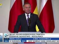 Andrzej Duda i mostki