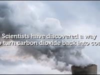Naukowcy zamienili dwutlenek węgla (CO2) w zwykły węgiel