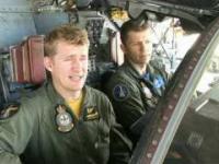 F-111 ląduje na brzuchu