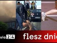 Flesz dnia | Groźny pożar w Chorzowie | MMA na autostradzie A4 | Wizz Air Half Maraton Katowice