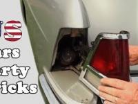 Bajery w starych amerykańskich samochodach
