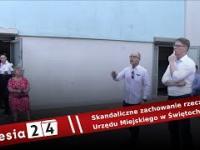 Skandaliczne zachowanie Patryka Koseli - rzecznika Urzędu Miejskiego w Świętochłowicach