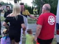 Pijany Ukrainiec wjechał w matkę z dzieckiem