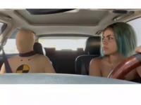 Pierwsza lekcja nauki jazdy z ojcem