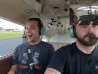 Zabrał znajomego na przelot samolotem nie przyznając się do posiadania licencji