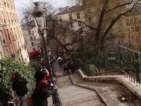 Najszybsza droga w dół po schodach