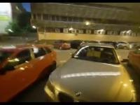 Szybki przyjazd policji pod budynkiem PiSu
