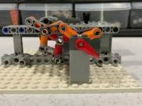 Ciekawe połączenia mechaniczne za pomocą Lego
