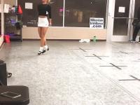 Precyzyjne nogi do tańca