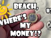 Ile kasy można znaleść na angielskiej plaży?