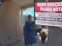 """Dobry sposób na niechcianych """"pukaczy"""" do drzwi"""
