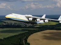 Start An-225 Mrija nagrany z drona
