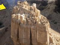 W Ruinach miasta 100 metrów nad ziemią nadal mieszkają ludzie