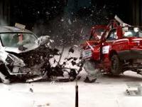 Kompilacja crash testów - stare auta vs nowe auta