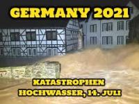 Nagrania dzisiejszej powodzi w Niemczech