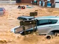 Szalona powódź w Niemczech! Dramatyczne nagrania