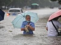 Potężna powódź w Chinach, Zhengzhou 20.07.21