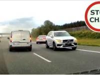 Kierowca Volvo chciał zaoszczędzić kilka minut, doprowadził do wypadku