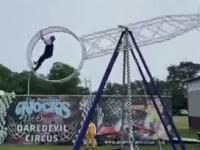 Akrobata spada z Koła Śmierci