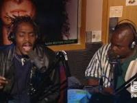 Coolio i L.V. śpiewają Gangsta's Paradise na żywo w radiu