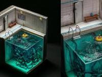 Diorama z potworem (DIY)