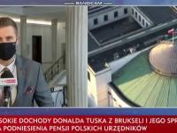 TVPiS: Tusk zarobił 9 mln zł, a nie chce dać podwyżek posłom
