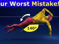 Najgorszy błąd popełniany podczas pływania