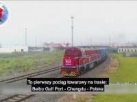 Transport kolejowy z Chin do Polski. Nowa szybka trasa.