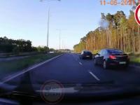 Samozaoranie szeryfa drogowego
