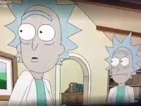 ***** *** w kreskówce Rick and Morty
