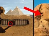 Odkryto sekretne pomieszczenia wewnątrz Sfinksa, które zaszokowały świat