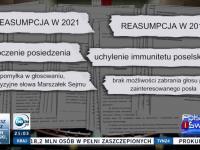 Mocny materiał TVN24 o kłamstwie i złamaniu prawa przez marszałek Sejmu E. Witek