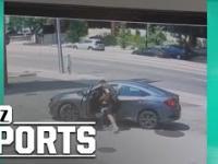 Próbował ukraść auto zawodnika UFC. Odpuścił, gdy dostał kilka ciosów