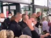 Francja. Policja blokuje wstęp do supermarketu ludziom bez paszportów Covid-19