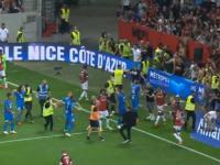 Skandal podczas meczu Nice z Olympique Marsylia