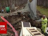 Norwegia w 2016 roku wybudowała płot wysoki na 4m z identycznych powodów