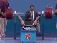 Rekord świata w wyciskaniu na paraolimpiadzie