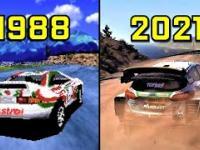Ewolucja gier wyścigowych 1988-2021